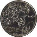 SAINT-OURS -LES-ROCHES - Vulcania 5 (dragon ride) / MONNAIE DE PARIS 2009