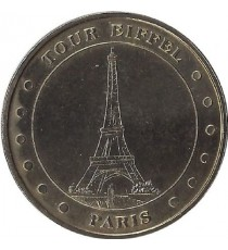 PARIS - Tour Eiffel 2 (12 Points) / MONNAIE DE PARIS - 2001